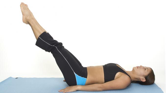 Упражнения на мышцы нижнего пресса