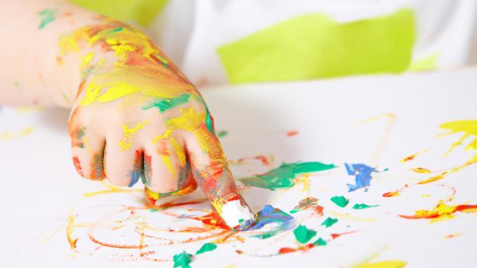 Пальчиковые краски - отличный новогодний подарок