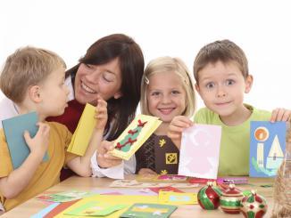 Поделки с ребенком на новый год