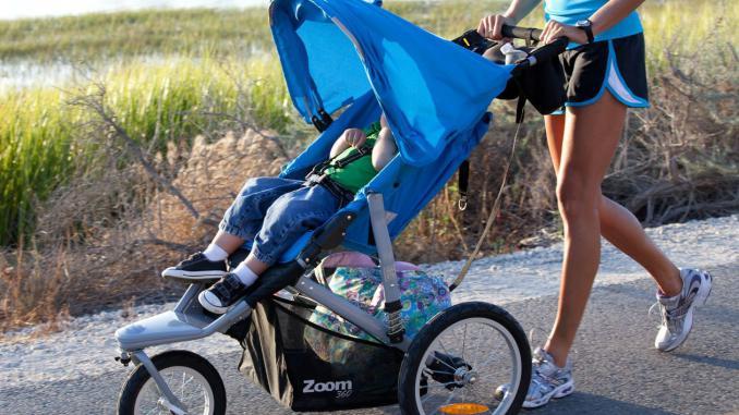 Спортивная ходьба с коляской