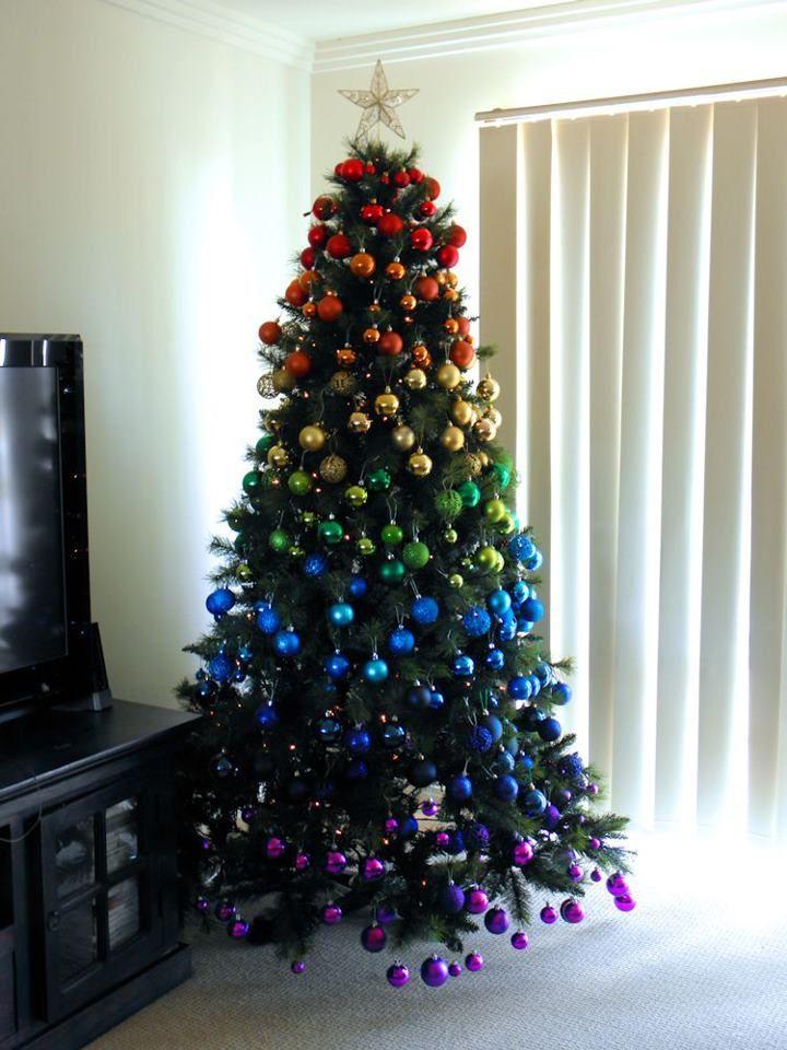 Как необычно украсить елку