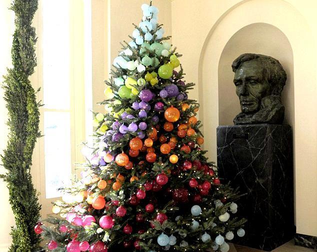 Необычная новогодняя елка